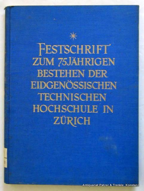 Zürich, Orell Füssli, 1930. Fol. Mit zahlreichen: Zürich. -- Festschrift