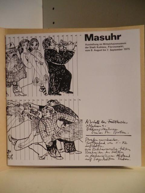 Masuhr. Ausstellung vom 9. August bis 7.: Ausstellungskatalog