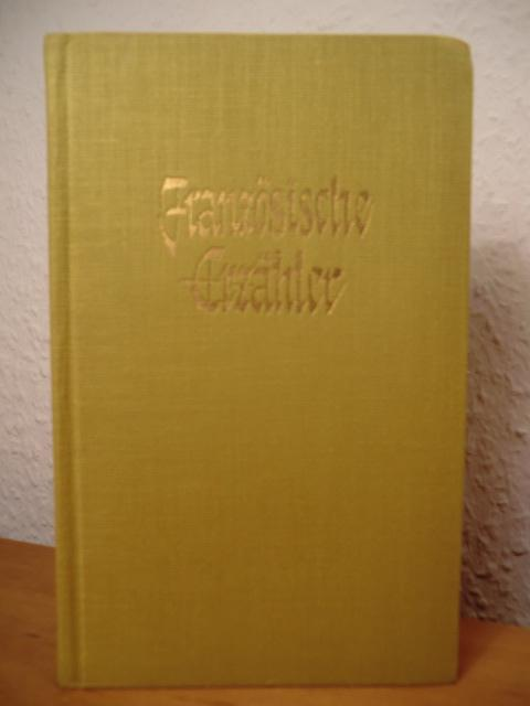 Französische Erzähler der Gegenwart. Eine Anthologie: Schlocker, Georges (Hrsg.)