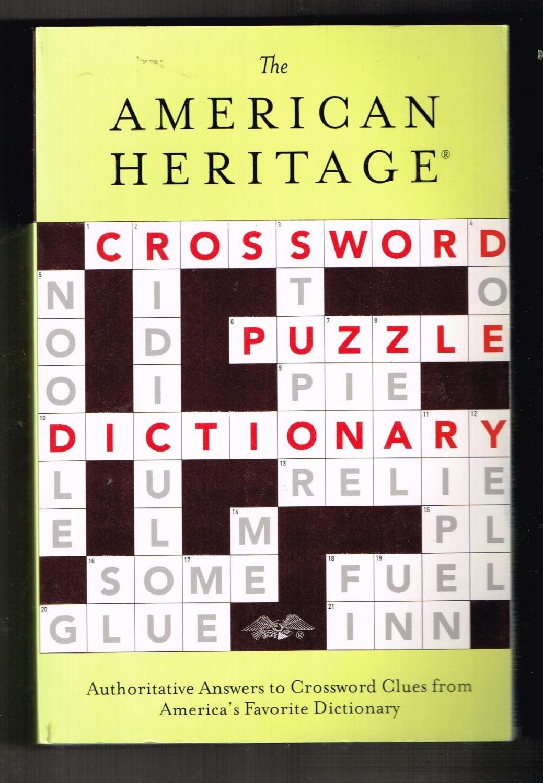 The American Heritage Crossword Puzzle ...
