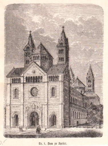 Dom zu Speier.: Speyer -