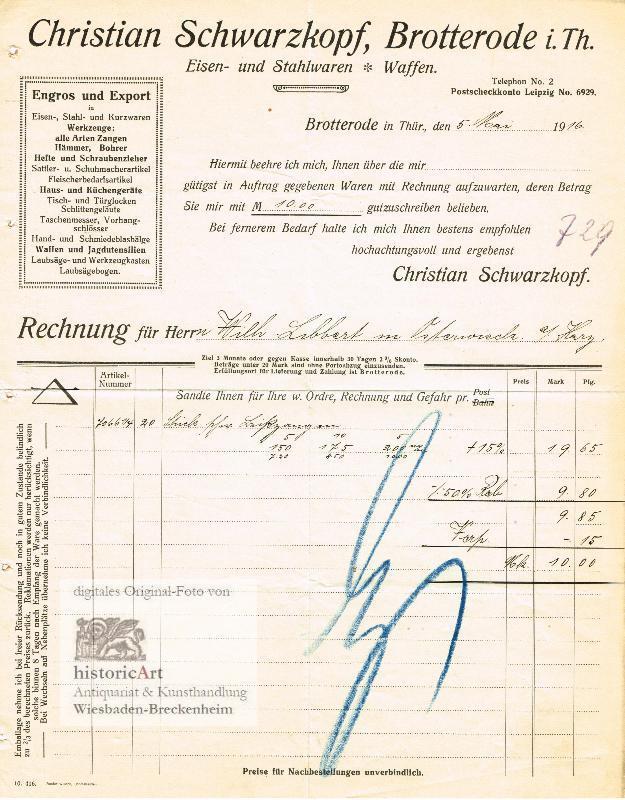 Christian Schwarzkopf En Gros u. Export in: Christian Schwarzkopf En