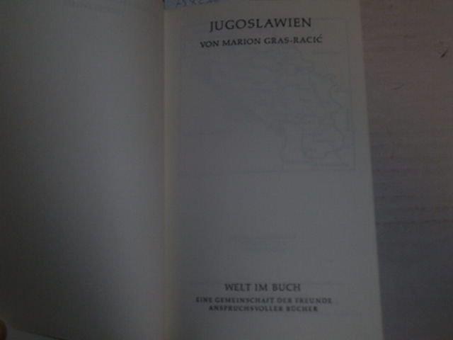 Kulturgeschichte der Nationen ; Jugoslawien. Welt im: Gras-Racic, Marion