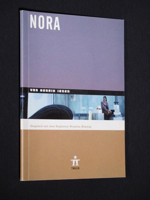 Programmheft 29 Thalia Theater Hamburg 2002/03. NORA: Herausgeber: Thalia Theater