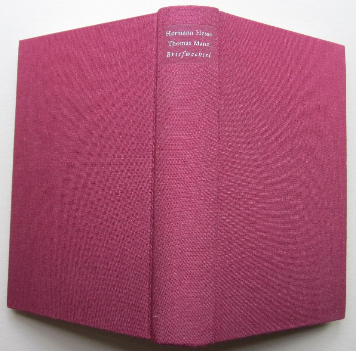 Briefwechsel. Herausgegeben von Anni Carlsson und Volker: Mann, Thomas und