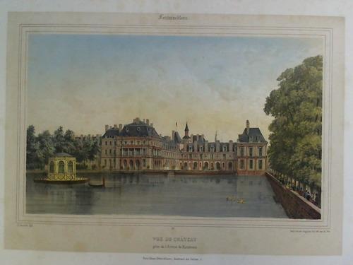 Vue du Chateau prise de l'Avenue de: Fontainebleau
