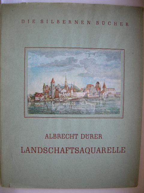"""Albrecht Dürer - Landschaftsaquarelle."""" //: A. E. Brinckmann"""