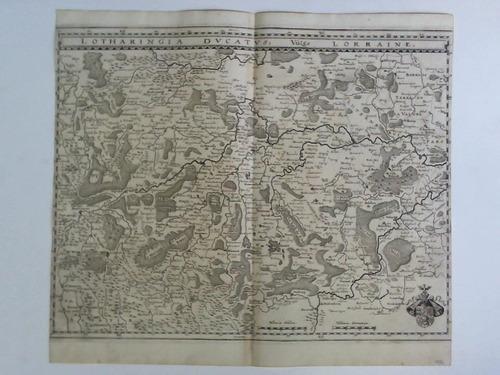 Lotharingia Ducatus, Vulgo Lorraine - Karte im: Gottfried, Johann Ludwig