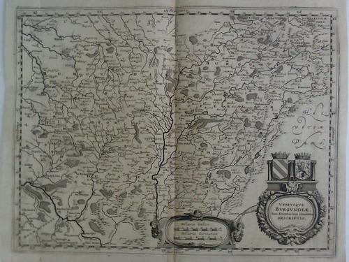 Utriusque Burgundiae, tum Ducatus tum Comitatus, Descriptio: Gottfried, Johann Ludwig