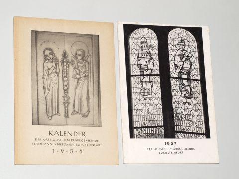 Kalender der katholischen Pfarrgemeinde Johannes Nepomuk Burgsteinfurt.: Steinfurt.-