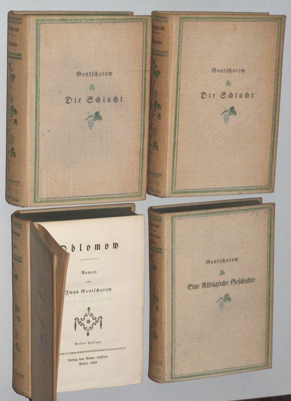Gesammelte Werke in vier Bänden. Eine alltägliche: Gontscharow, Iwan: