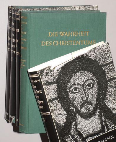 Die Wahrheit des Christentums. 4 Bde.: Riedmann, Alois: