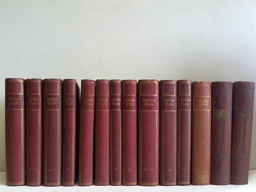 Schillers Werke. 15 Bände in 11 Bänden: Kutscher, Arthur (Hrsg.)