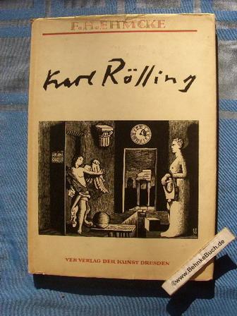 Karl Rössing : Das Illustrationswerk : dargestellt: Ehmcke, Fritz Helmut.