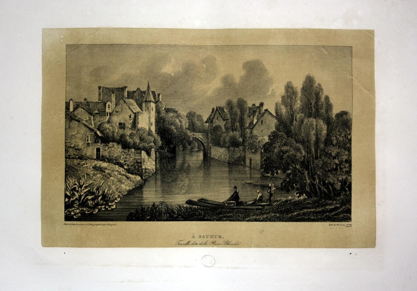 A Saumur tourelle dite de la Ruine: Dagnan, Isodore: