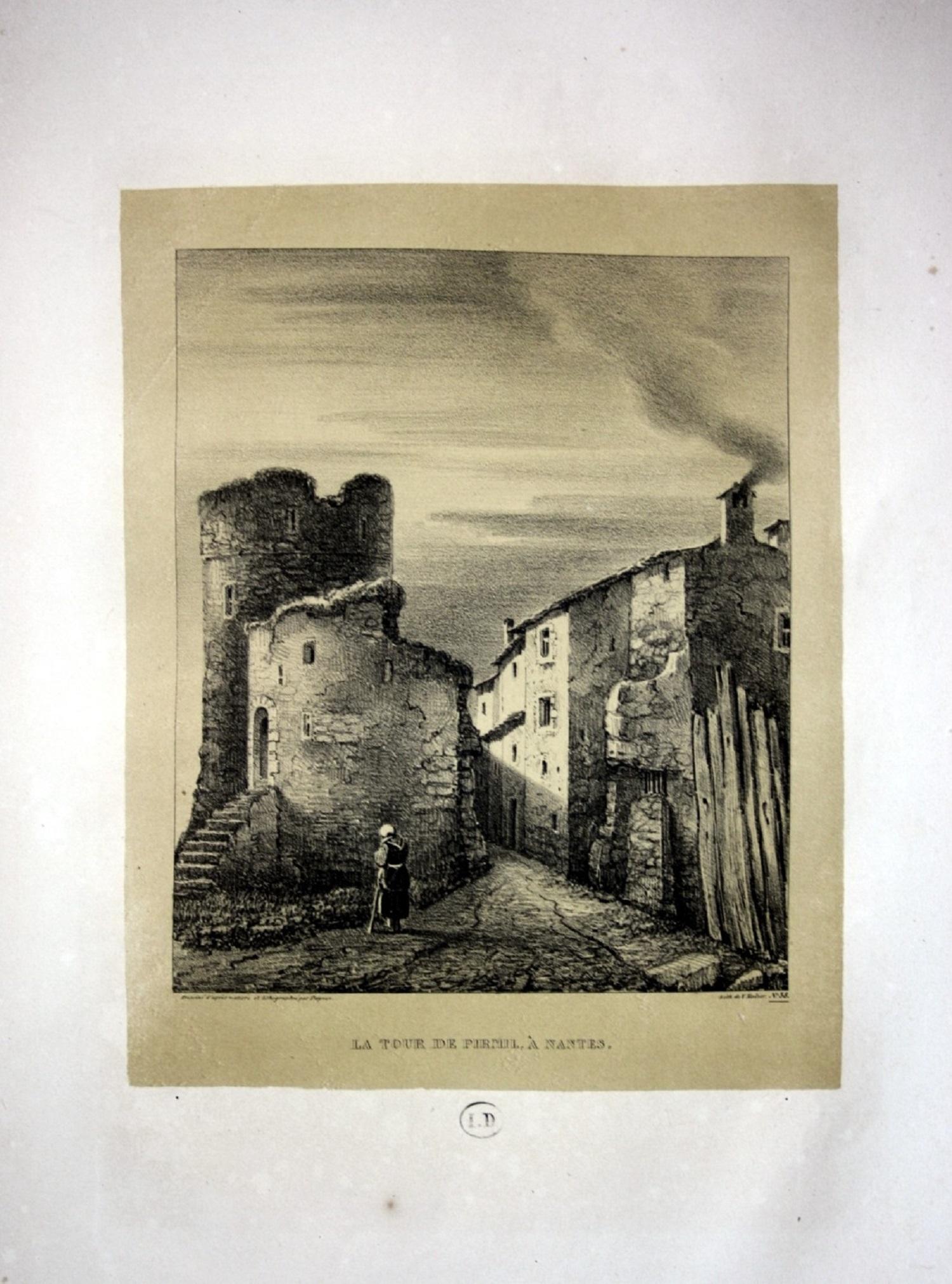 """La Tour de Pirmil a Nantes"""" -: Dagnan, Isodore:"""