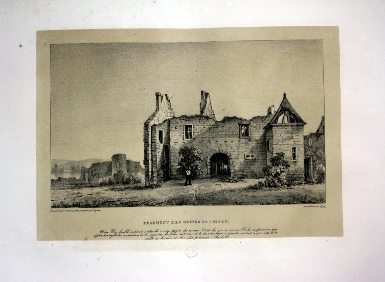 """Fragment des Ruines de Chinon"""" - Chinon: Dagnan, Isodore:"""