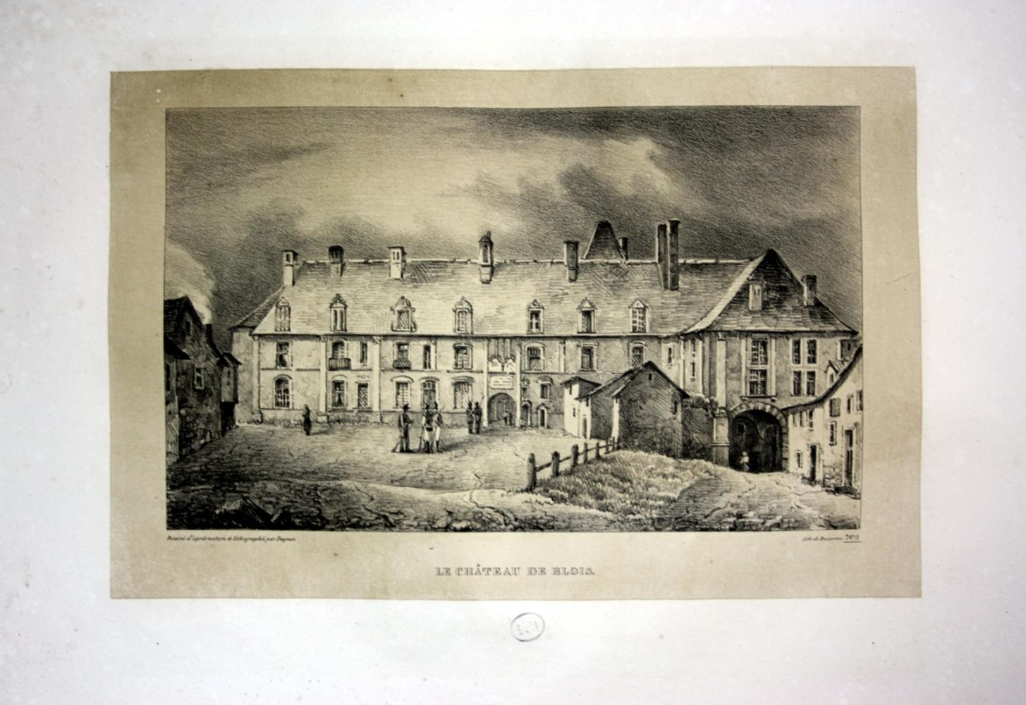 """Le Chateau de Blois"""" - Chateau de: Dagnan, Isodore:"""
