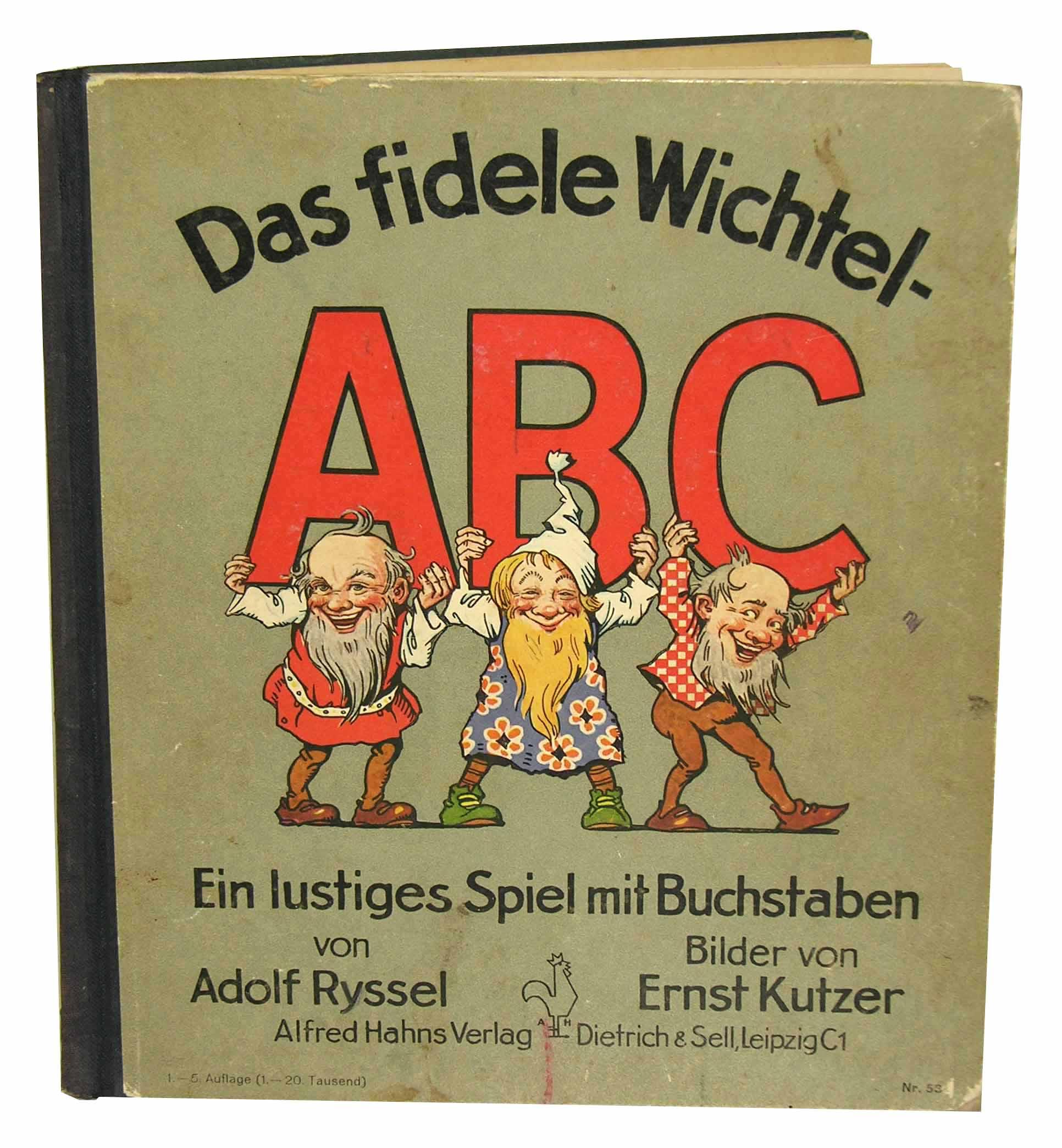 Das fidele Wichtel ABC. Ein lustiges Spiel ...