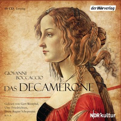 Das Decamerone: Giovanni Boccaccio