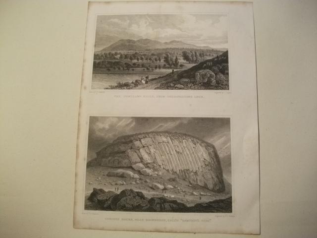 The Pentland Hills, from Duddingstone Loch u.: England, Edinburgh.