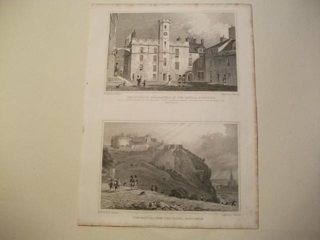 The Interior Quadrangle of the Castle u.: England, Edinburgh.