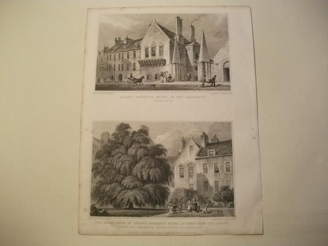 Regent Murray's House, in the Canongate u.: England, Edinburgh.