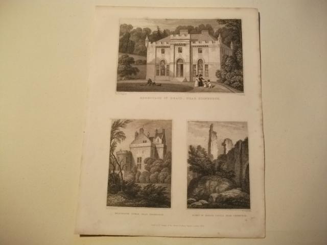 Hermitage of Braid, Merchiston Tower u. Ruins: England, Edinburgh.