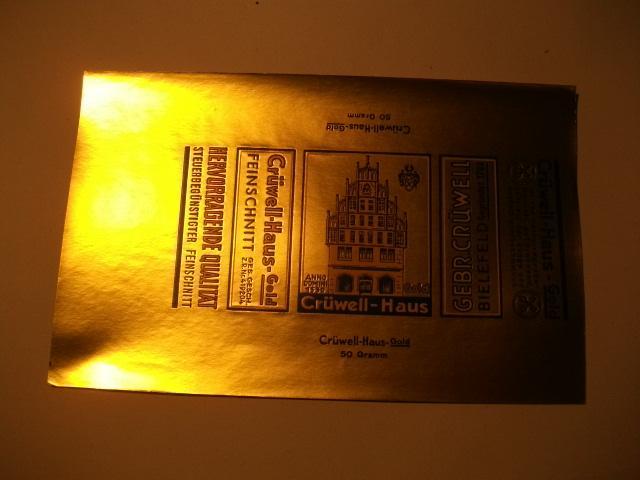 Crüwell-Haus-Gold.: Tabak
