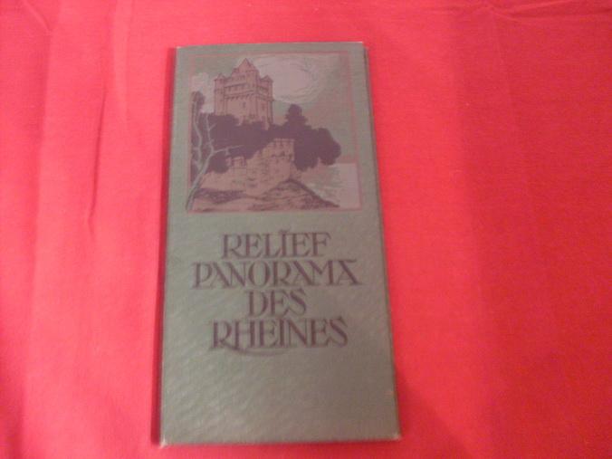 RELÍEF PANORAMA DES RHEINES.: Siebenhar H.