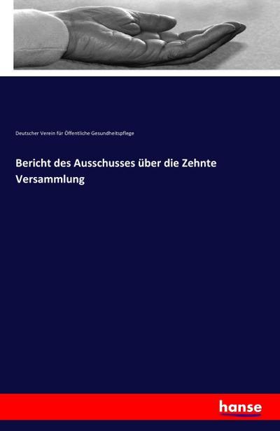Bericht des Ausschusses über die Zehnte Versammlung: Deutscher Verein für