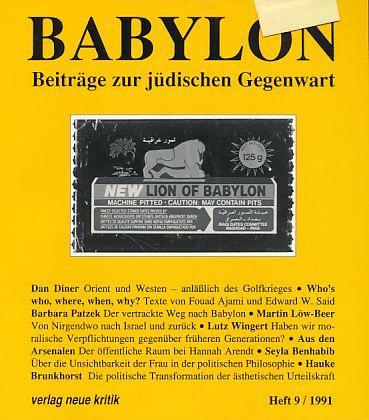 Babylon. Beiträge zur jüdischen Gegenwart. Heft 9,: Brumlik, Micha, Dan
