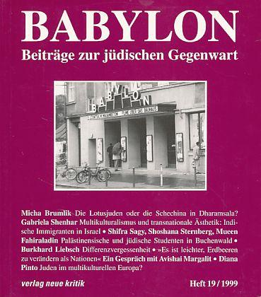 Babylon. Beiträge zur jüdischen Gegenwart. Heft 19,: Brumlik, Micha, Dan