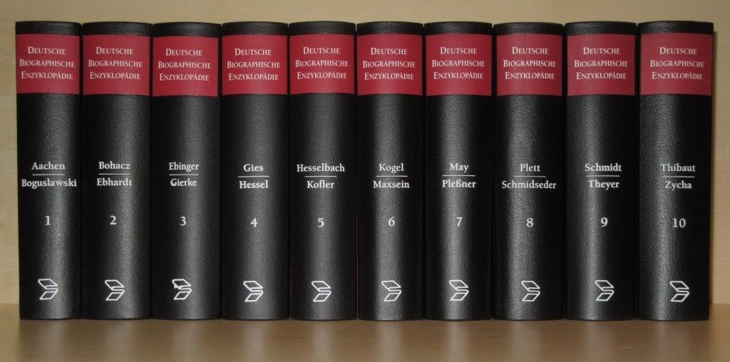 Deutsche biographische Enzyklopädie. 10 Bände.: Killy, Walther (Hg.):