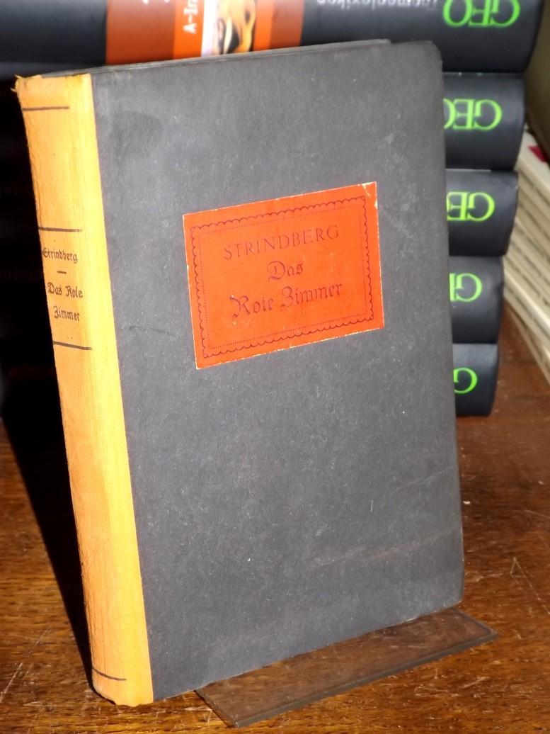 Das Rote Zimmer. Roman. Aus dem Schwedischen: Strindberg, August: