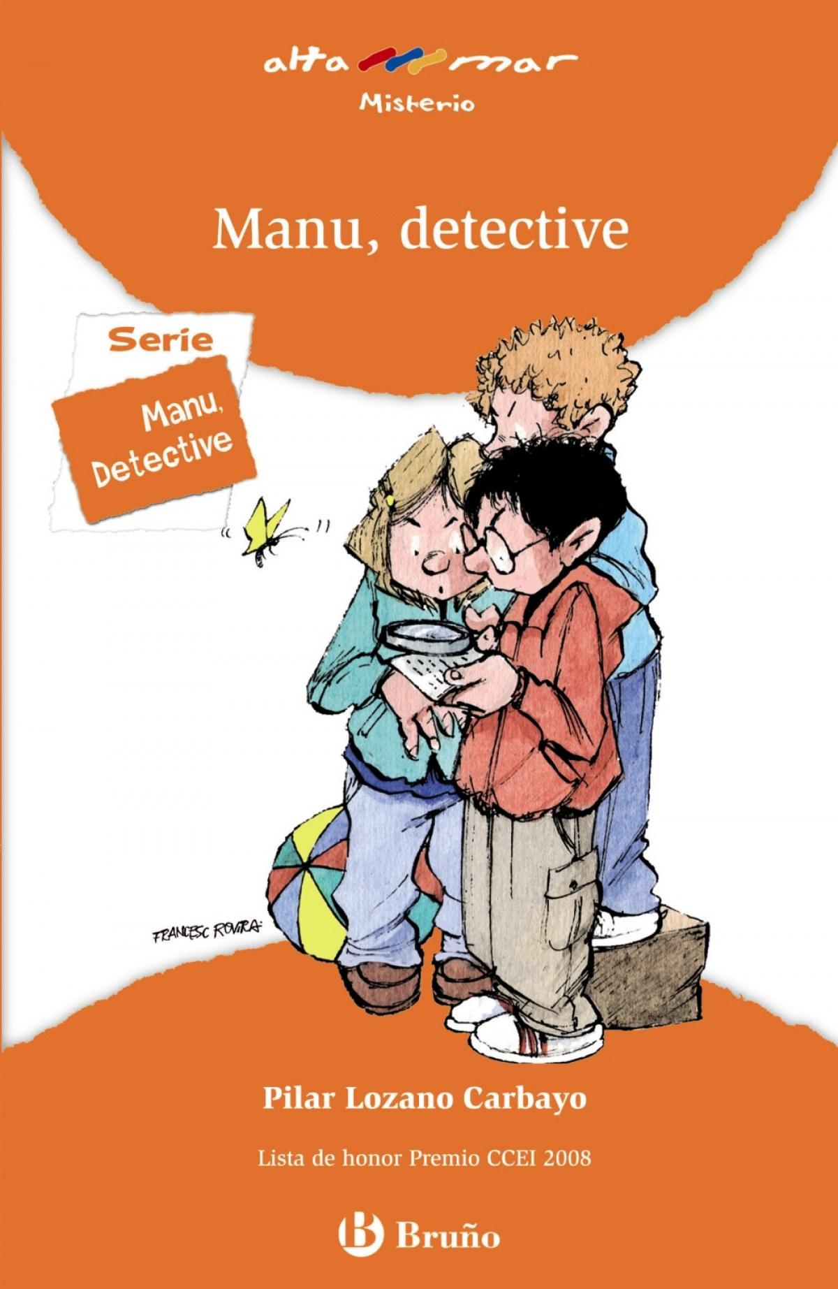 Manu, detective - Lozano Carbayo, Pilar