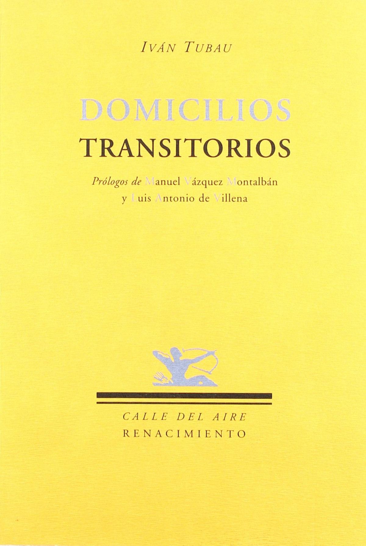 Domicilios transitorios - Tubau, Ivan