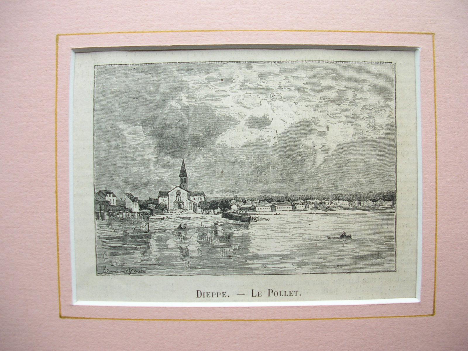 """Dieppe - """"Le Pollet"""": France, Frankreich)"""