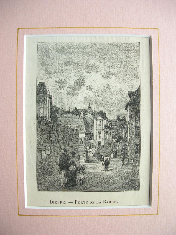 """Dieppe - """"Porte de la Barre"""": France, Frankreich)"""