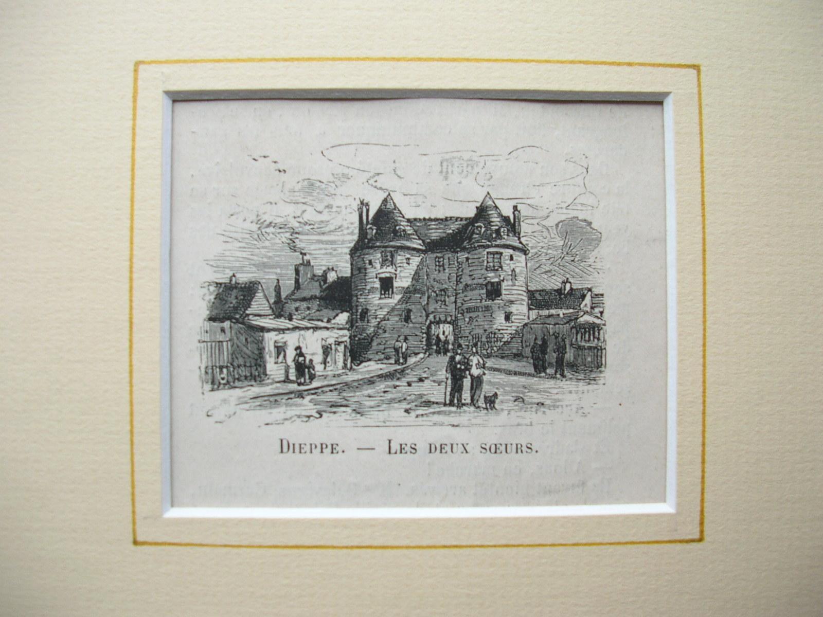 """Dieppe - """"Les deux Soeurs"""": France, Frankreich)"""