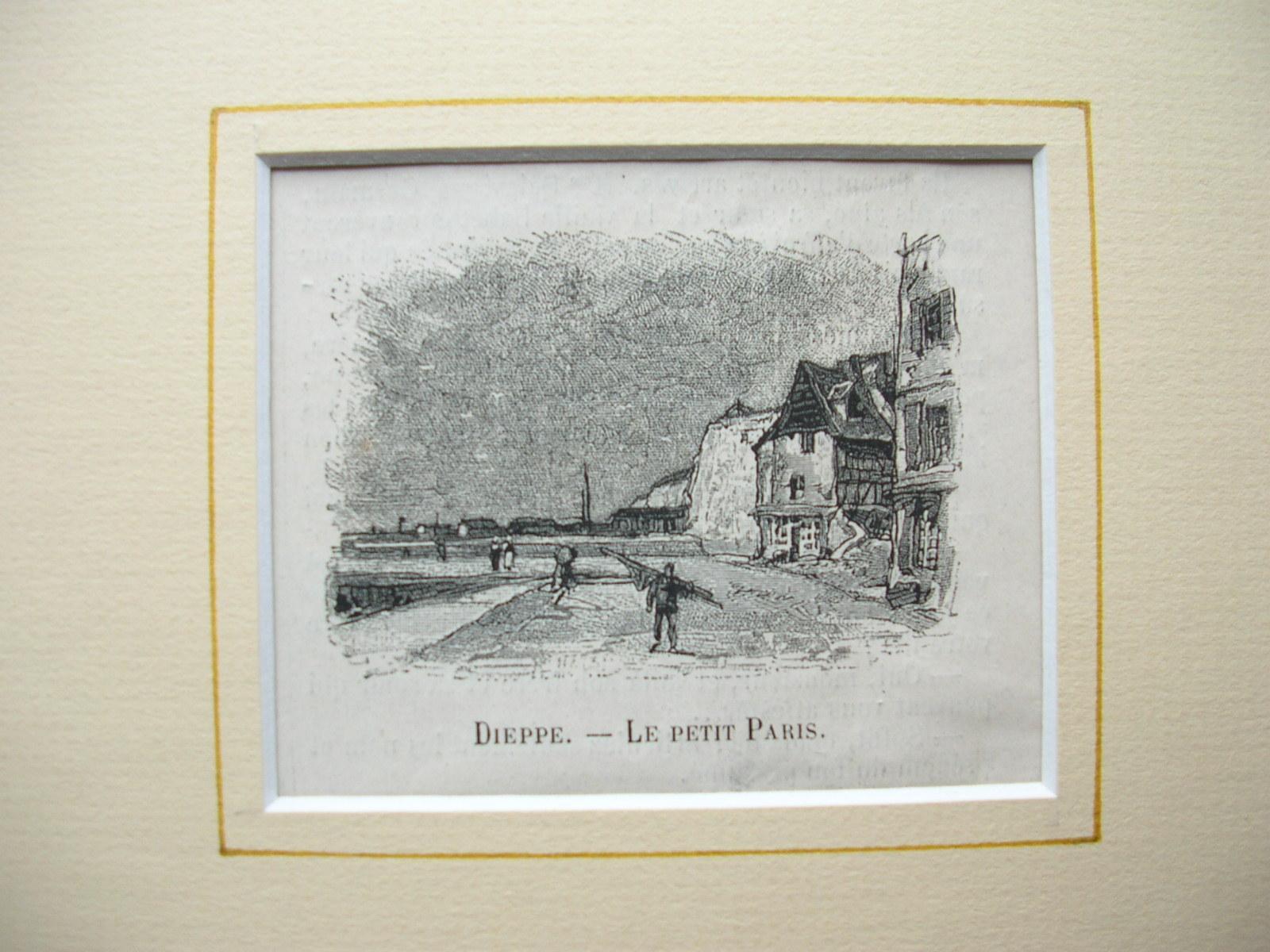 """Dieppe - """"Le petit Paris"""": France, Frankreich)"""