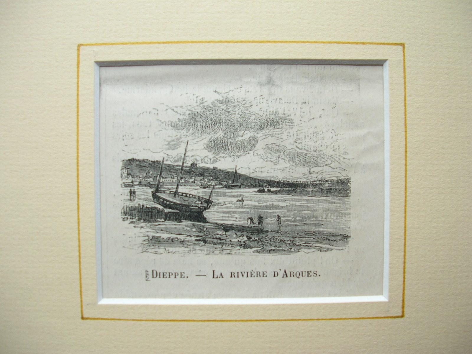 """Dieppe - """"La Riviére d'Arques"""": France, Frankreich)"""