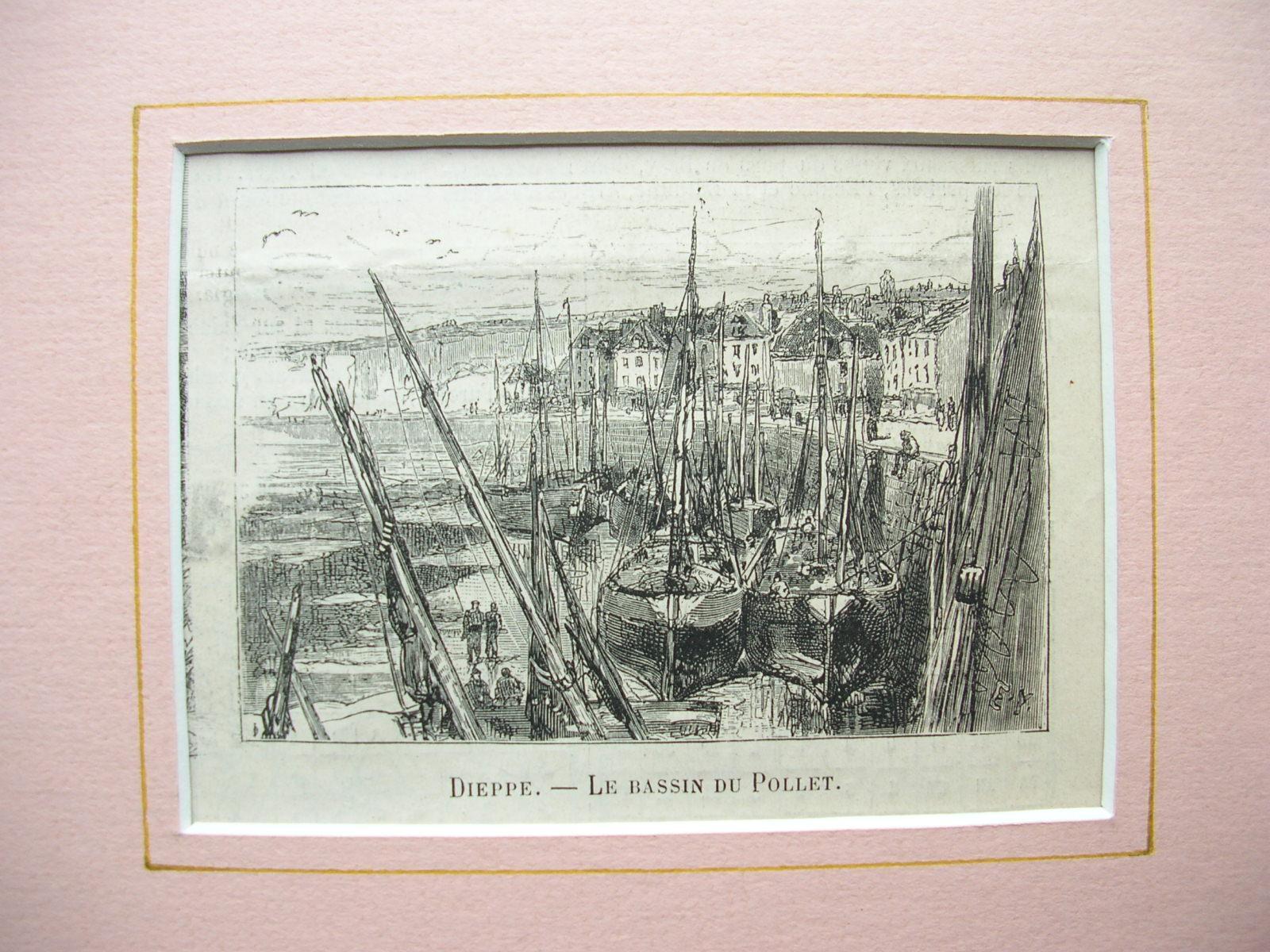"""Dieppe - """"Le Bassin du Pollet"""": France, Frankreich)"""