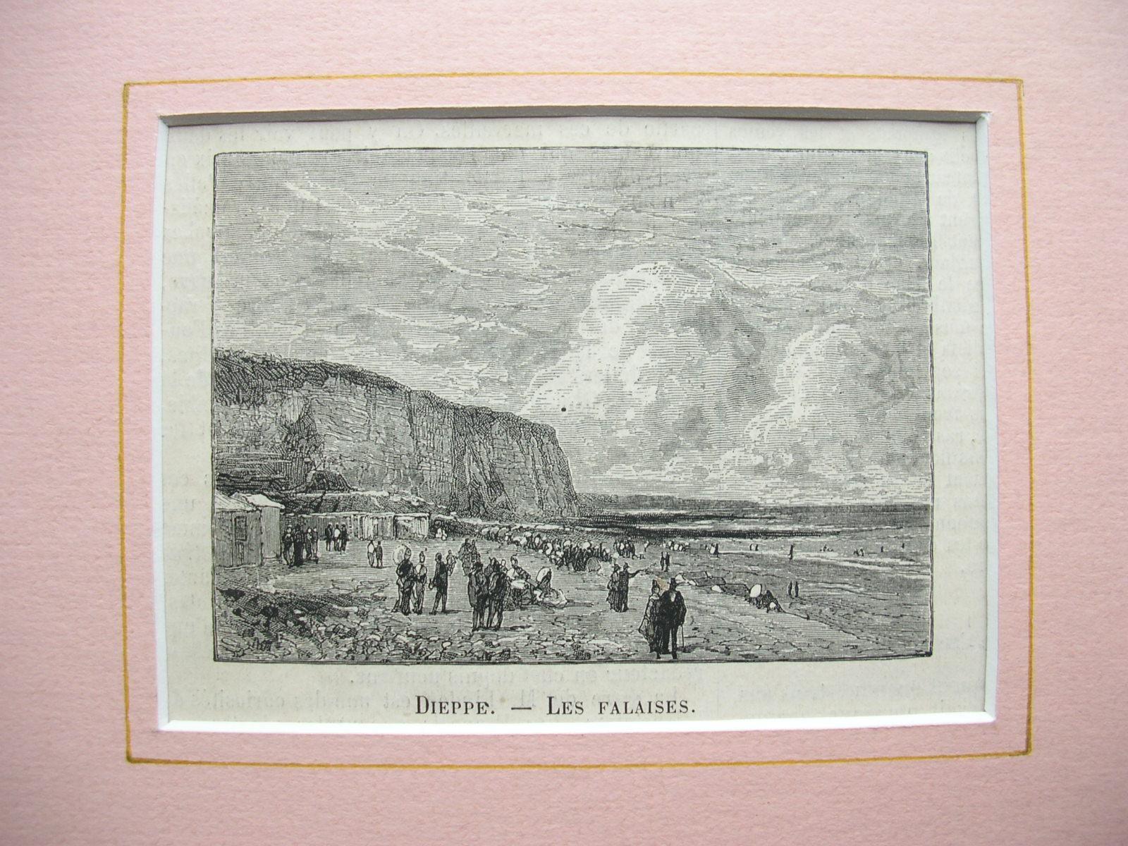 """Dieppe - """"Les Falaises"""": France, Frankreich)"""