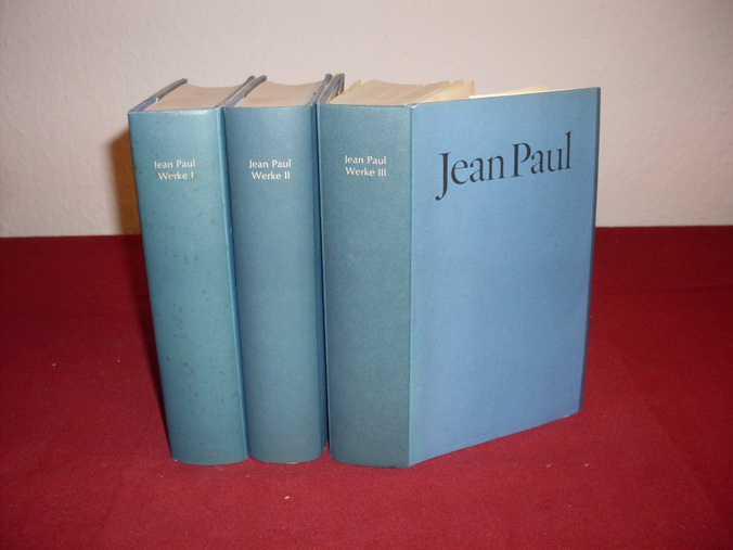 JEAN PAUL. Werke In Drei Bänden: Hrsg.]: Miller Norbert