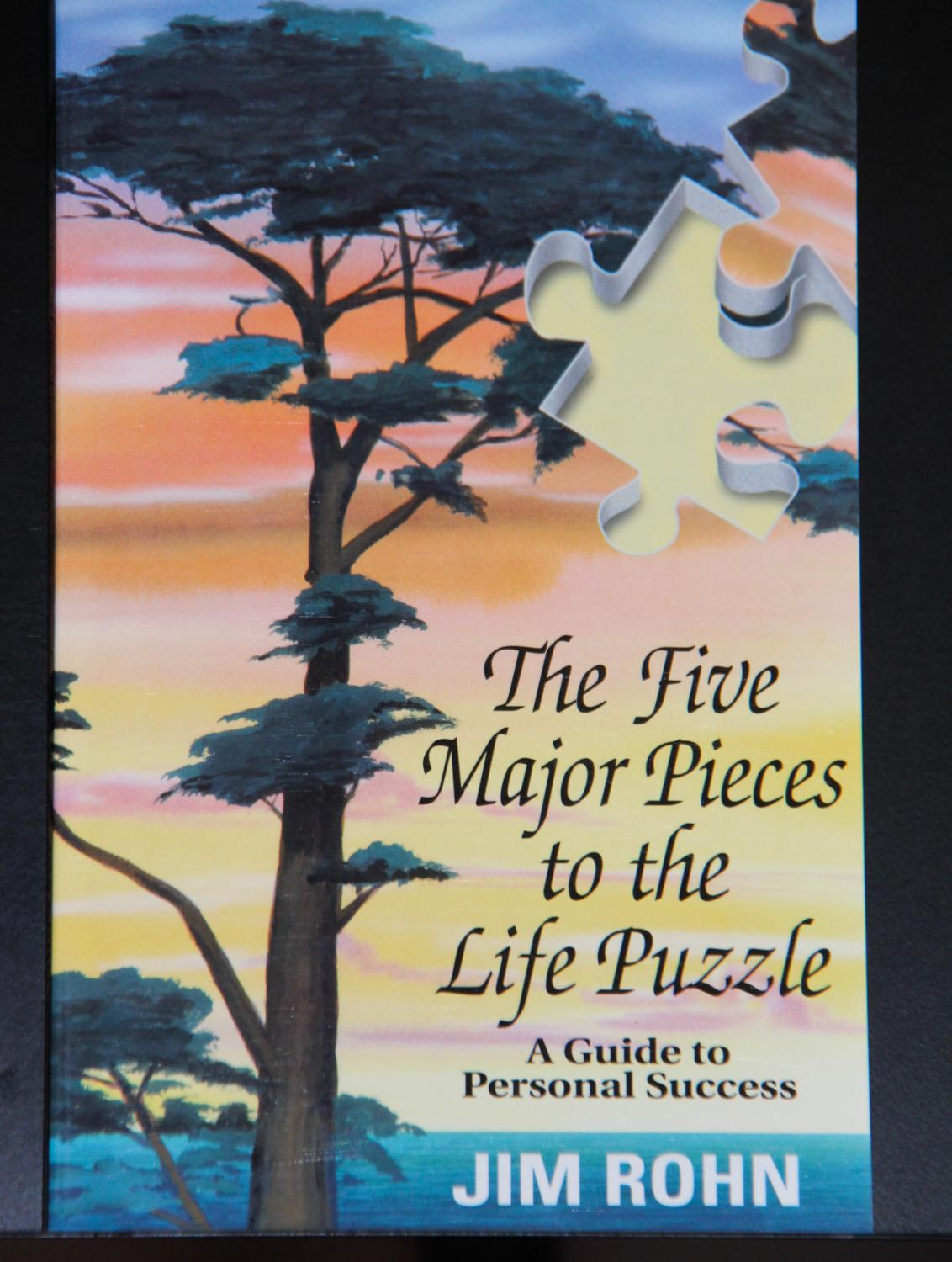 Five Major Pieces To The Life Puzzle By Jim Rohn New Soft Cover 1991 Mad Hatter Bookstore