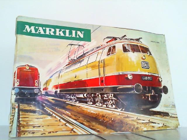 Märklin 1966/67 D.: Märklin, Gebrüder (Hrsg.):