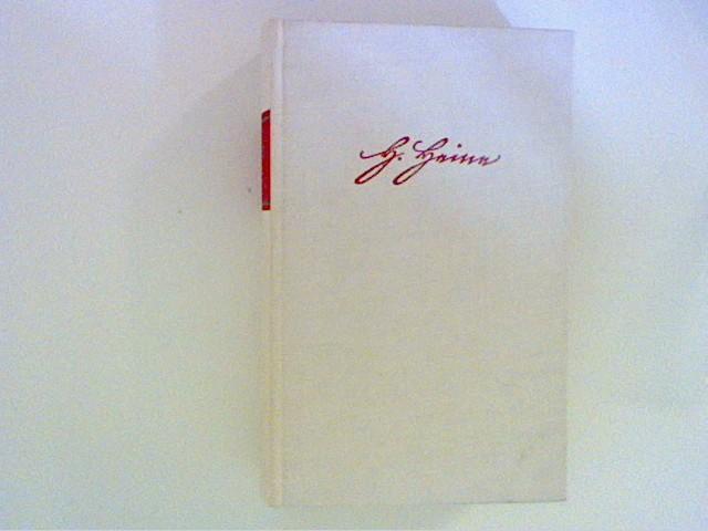 Werke und Briefe. 3. Reisebilder: Heine, Heinrich: