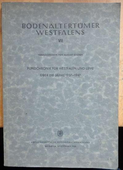 Fundchronik für Westfalen und Lippe über die: Stieren, August (Hrsg.)