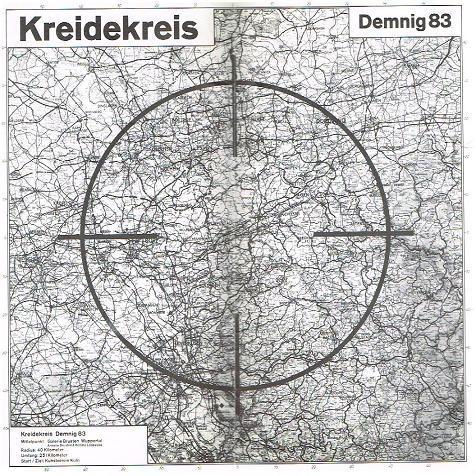 Kreidekreis : Demnig 83. Galerie Brusten Wuppertal.: Demnig, Gunter: